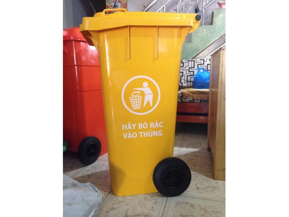 Thùng rác nhựa 120 L