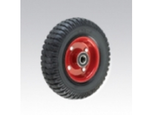 Black Rubber Wheel Covered Iron Core