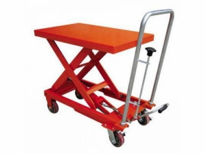 WB300 Hand Hydraulic Table Truck