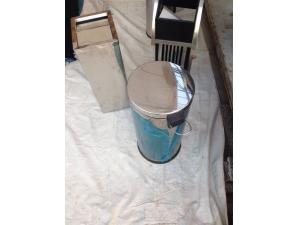 Stainless Steel Round Dustbin