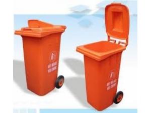 Trash Open lid litter